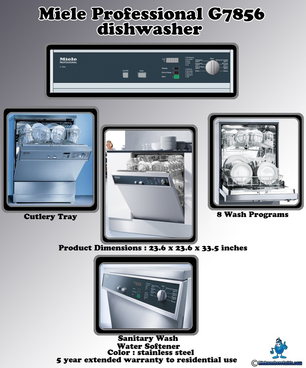 Miele professional g7856 dishwasher why should you buy it - Miele professional ...