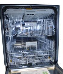 Miele Professional G7856 dishwasher inside view