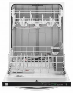 Kenmore Built-in Dishwasher - front panel