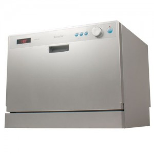 EdgeStar 6 Place Setting Countertop Portable Dishwasher front view