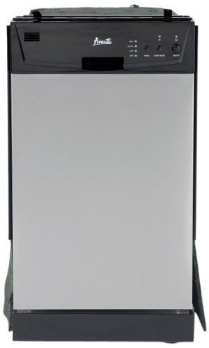 Avanti Model DWE1802SS Built-In Dishwasher review