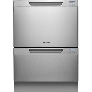 """Fisher Paykel DD24DCTX7 Dish Drawer 24"""" Stainless Steel Semi - Integrated Dishwasher"""