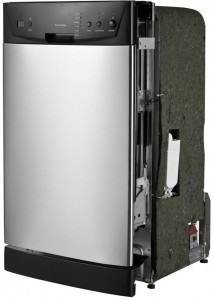 SPT SD-9252SS 18 Built-In Dishwasher - left view