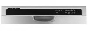 Whirlpool WDF520PADM Built-in Stainless Dishwasher - Control console