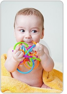 Baby gnawing toys