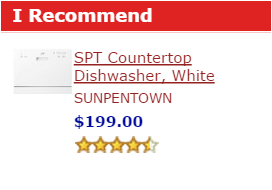 Best Countertop Dishwasher Of The Month Dishwashers Guide