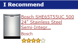 best under-counter dishwasher of the month