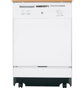 GE GSC3500DWW 25inch White Portable Full Console Dishwasher review
