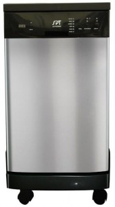 SPT 18 inch Portable Dishwasher review