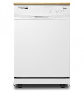 Whirlpool WDP350PAAW 24inch White Portable Full Console Dishwasher review