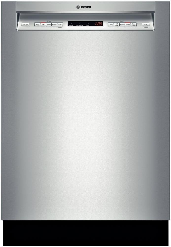 SHE65T55UC 500 24 Inches Stainless Steel Semi-Integrated Dishwasher by Bosch Review
