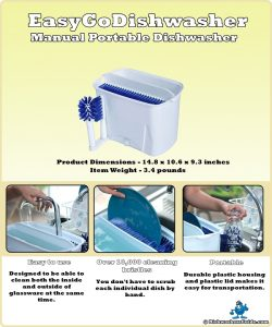 Best Portable Manual Dishwasher Review