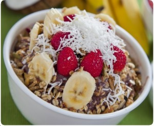 Healthy Cereal Bowl oatmeal