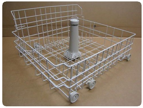 Lower rack dishwasher