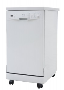 SPT SD-9241W Energy Star Portable Dishwasher, 18-Inch
