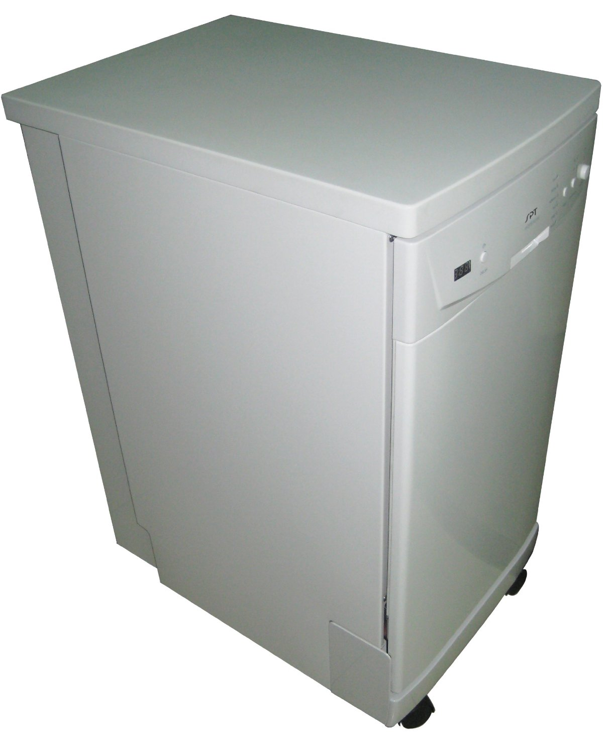 SPT SD 9241W Energy Star Portable Dishwasher, 18 Inch Features
