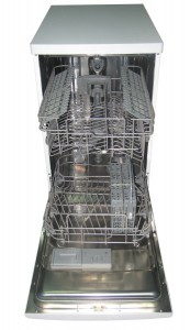 SPT SD-9241W Energy Star Portable Dishwasher, 18-Inch interior look