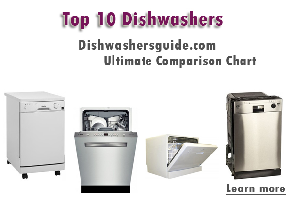 best dishwashers - comparison chart