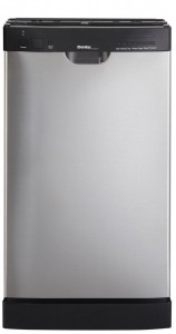 Danby DDaW1899BLS 18-Inch Built-In Dishwasher - Stainless Steel