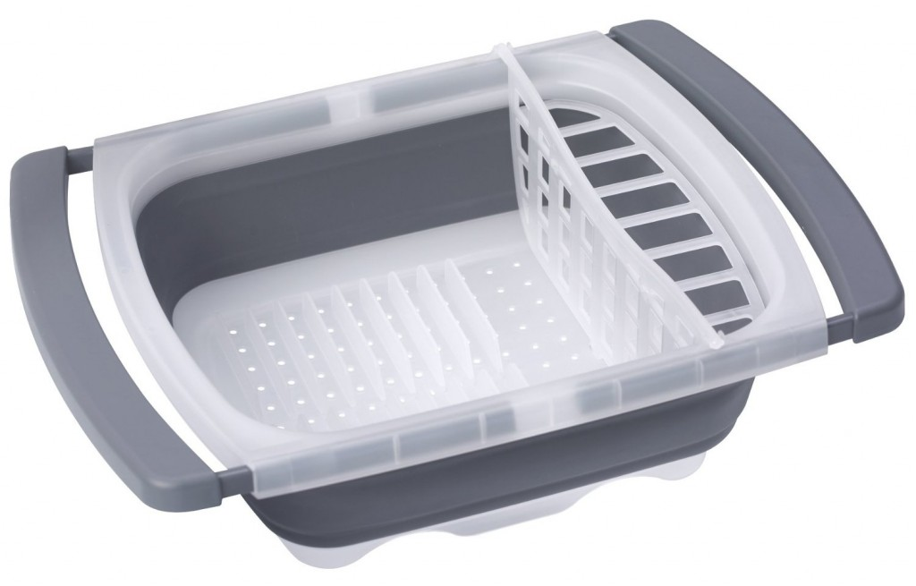 Prepworks by Progressive by Progressive Collapsible Over-The-Sink Dish Drainer