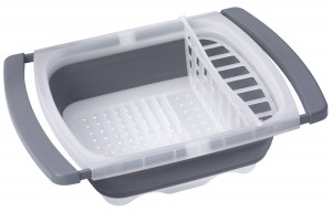 Prepworks Collapsible Over-The-Sink Dish Drainer review