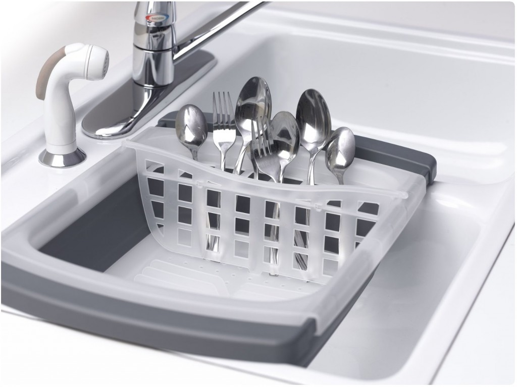 Best over the sink dish drainer - Dish rack for small space collection ...