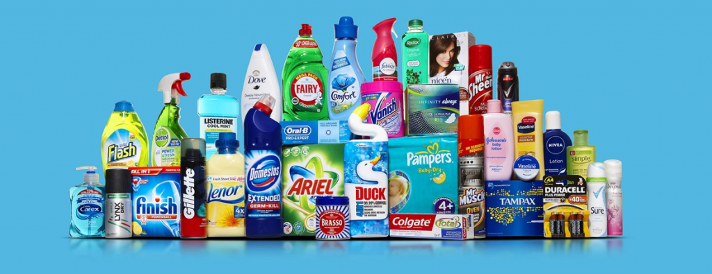 Branded cleaning products
