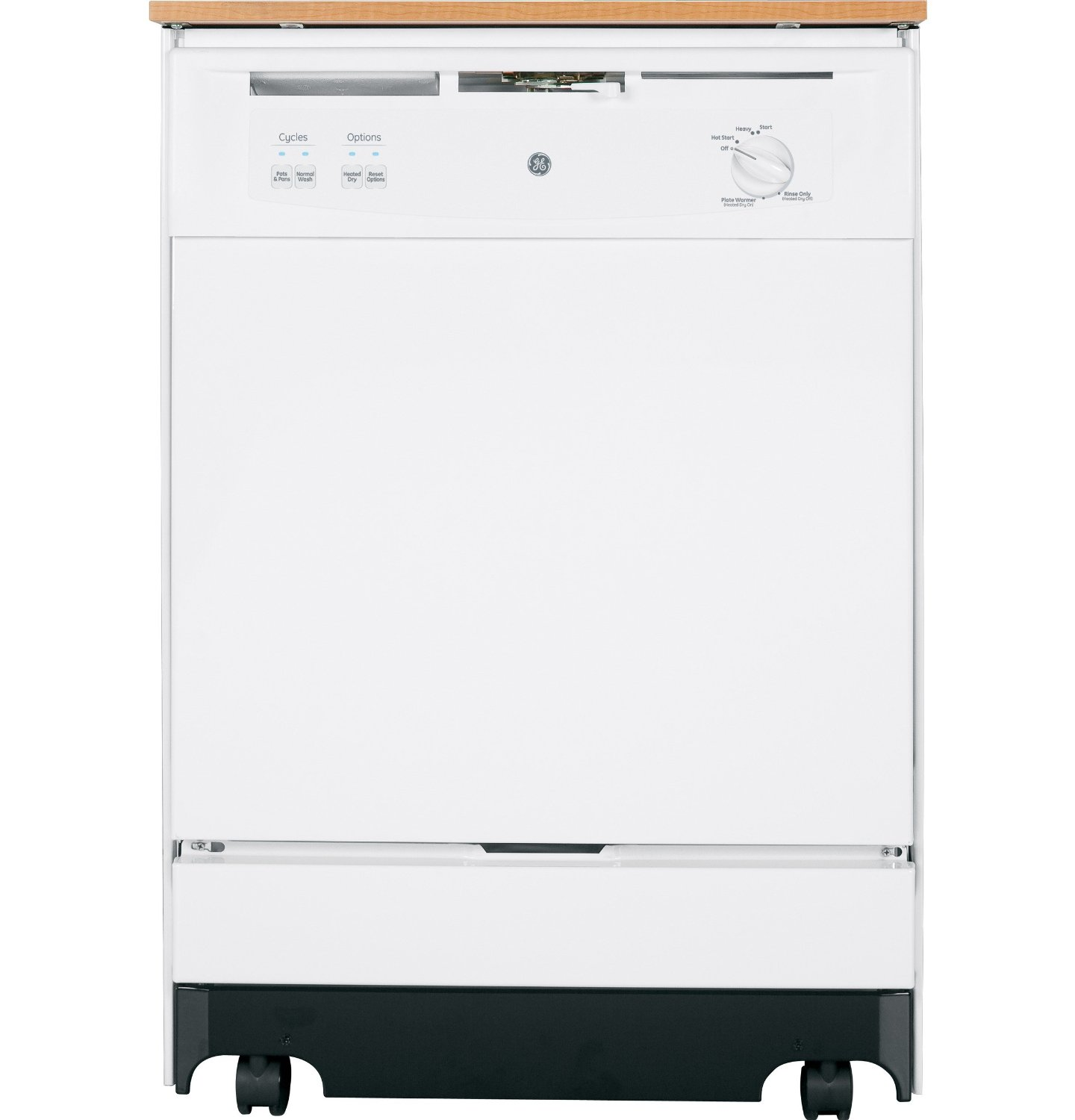 GE GSC3500DWW Portable, Full Console Dishwasher