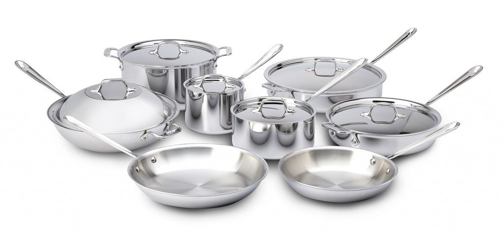 fully clad skillets