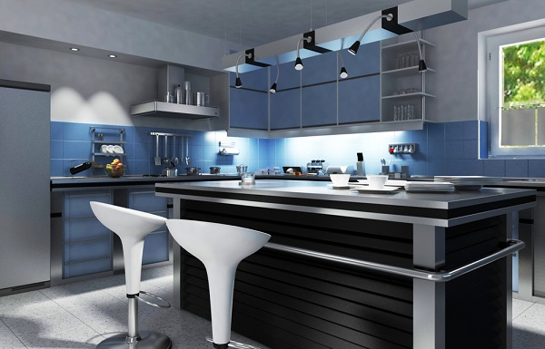 Kitchen cabinets modern vs traditional for Ultra modern kitchen cabinets