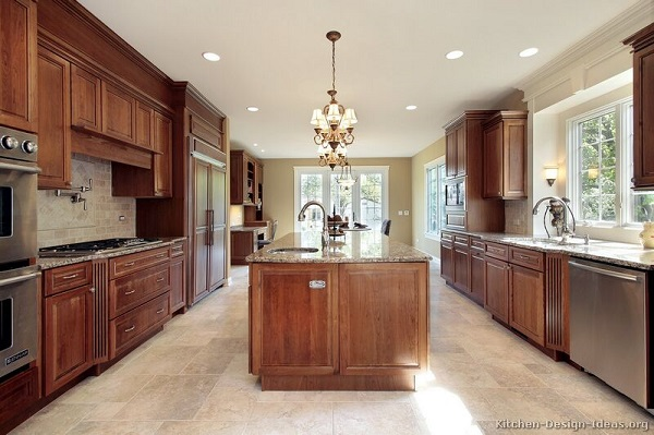 Kitchen cabinets modern vs traditional for Modern kitchen cabinets colors