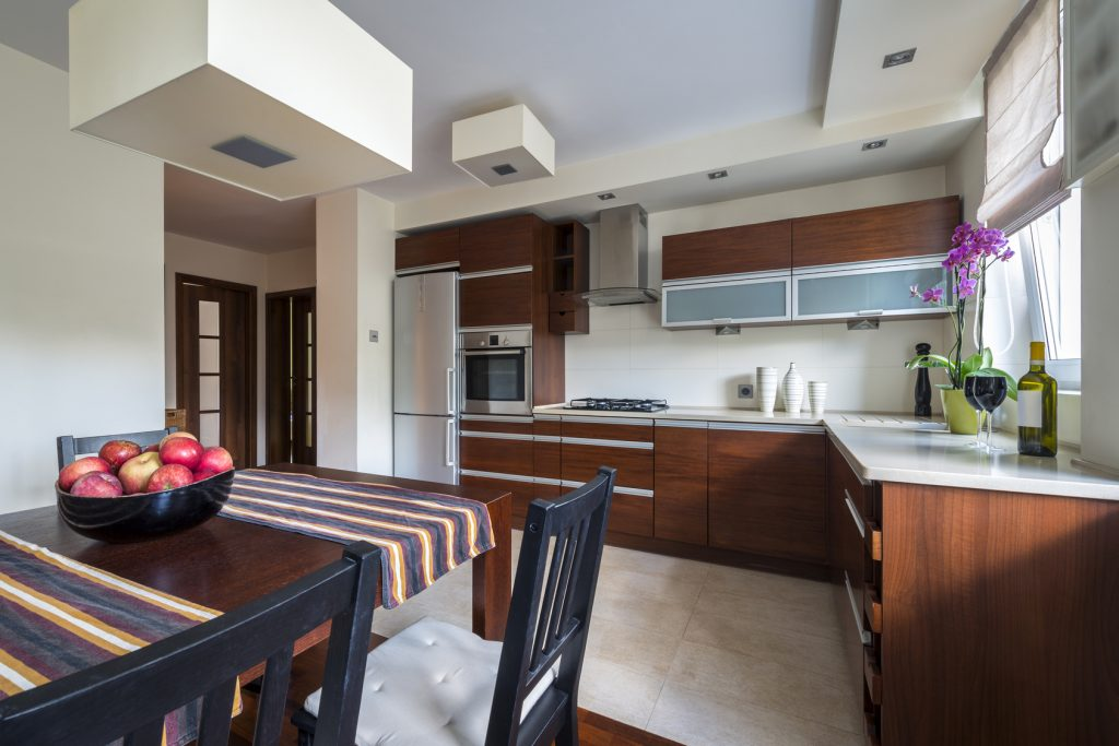 Larger households kitchen